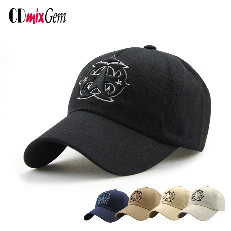 men women new cotton font baseball cap pentagram seersucker monogram diy cheap monogrammed caps
