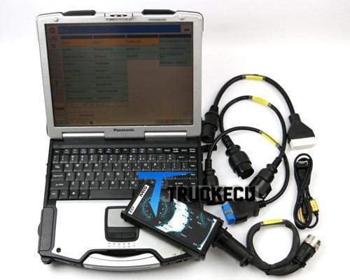13.1 version pour IVECO ELTRAC kit de diagnostic facile ECI Module Bluetooth avec iveco EASY + CF30 ordinateur portable prêt à l'emploi