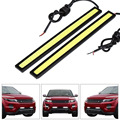1 Unids 14 CM COB LED DRL Daytime Running Light Impermeable DC12V Barra de Niebla Aparcamiento externo Led Car Styling Car Light Source lámpara