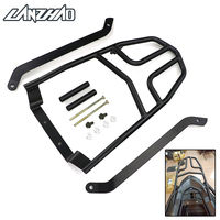 Black Motorcycle Rear Luggage Rack Aluminum Extend Cargo Bag Case Box Support Carrier For Yamaha NVX155 AEROX155 2017 2018