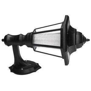 Image 2 - Led Solar Powered Muur Lantaarns Wandlamp Lamp Outdoor Tuin Hek Deur