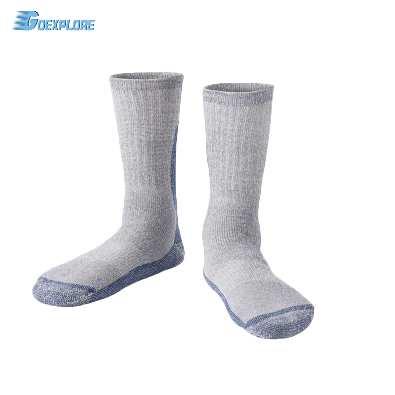 Goexplore Skiing Socks Women 85% Wool Winter Outdoor Breathable Quick Dry Moisture Hiking Cycling Sport Snowboard Sockes Men
