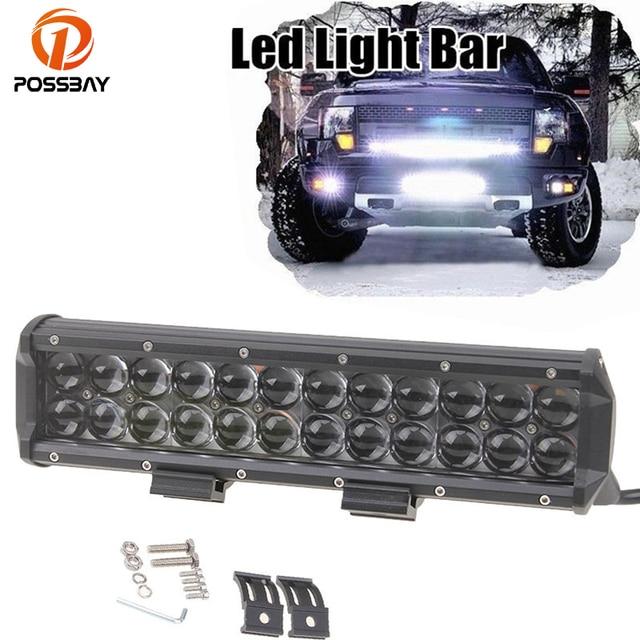 Possbay 81218306090120w led work light bar fog lamp flood possbay 81218306090120w led work mozeypictures Choice Image