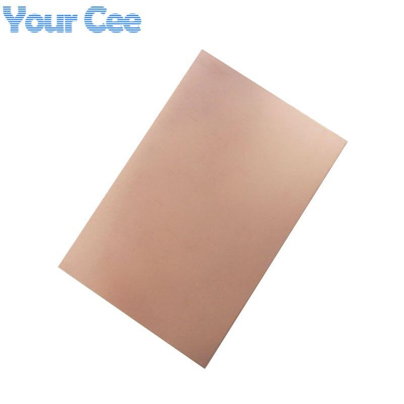 5Pcs 70 x 100 x 1.5mm FR-4 Single Side Copper Clad PCB Laminate Board