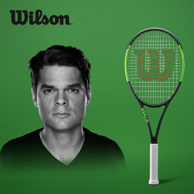 Original Wilson All Carbon Fiber Lightweight Professional Tennis Racket Blade For Men And Women WRT73871U2