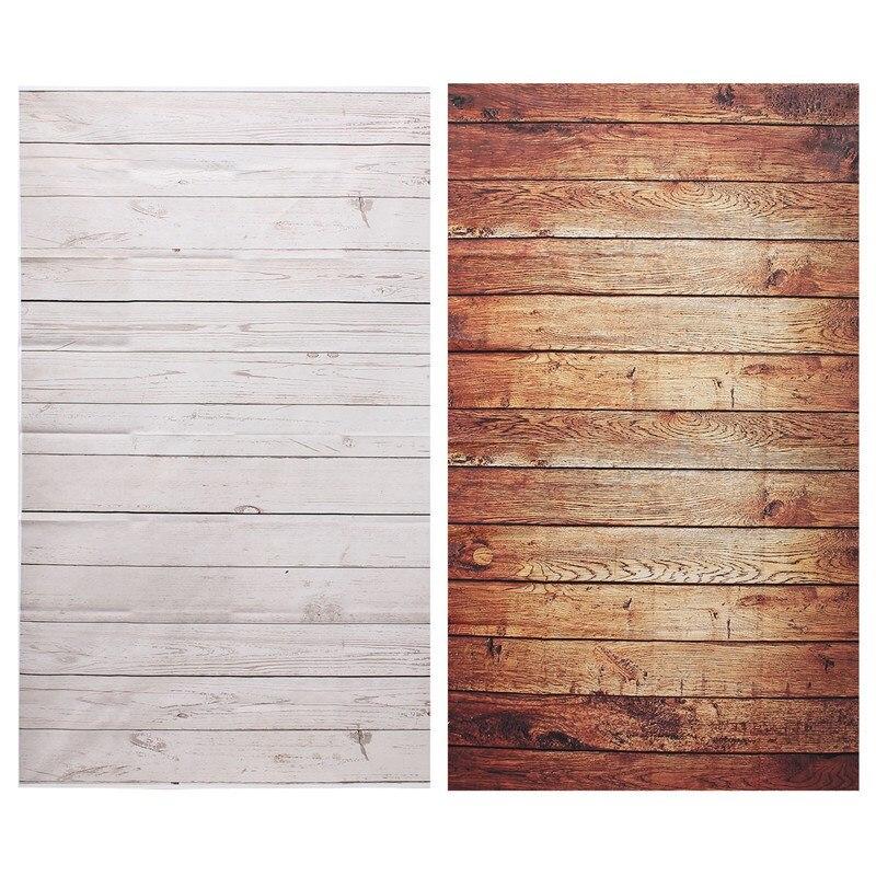 3x5ft fotografía Fondos para Studio photo props grano fondos fotográficos 90x150 cm marrón blanco