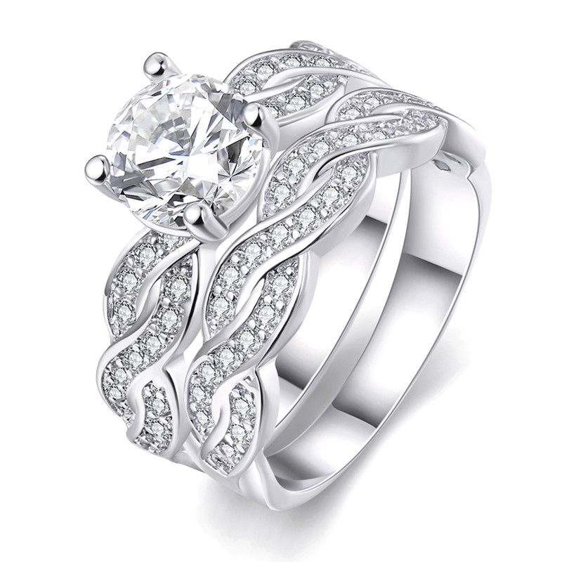 Size 5 Wedding Ring Set Promotion-Shop for Promotional Size 5 ...