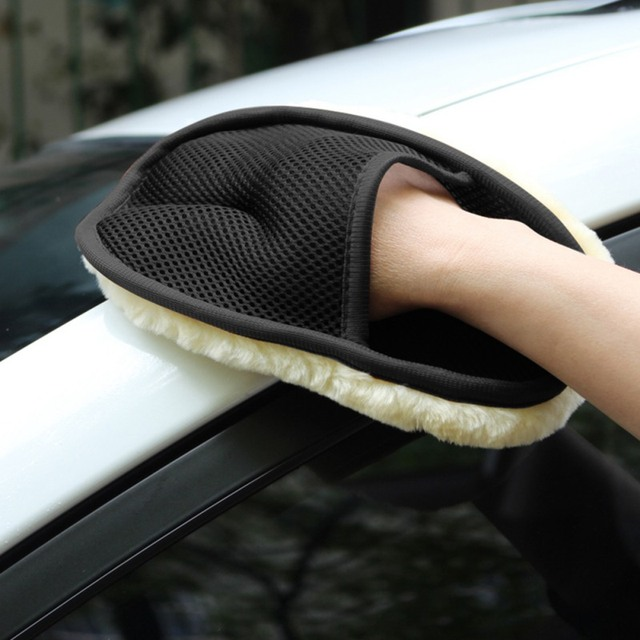 Soft Wool Car Washer Auto Care Car-styling Microfiber Cleaning Washing Tools Accessories Automobiles Wash Gloves