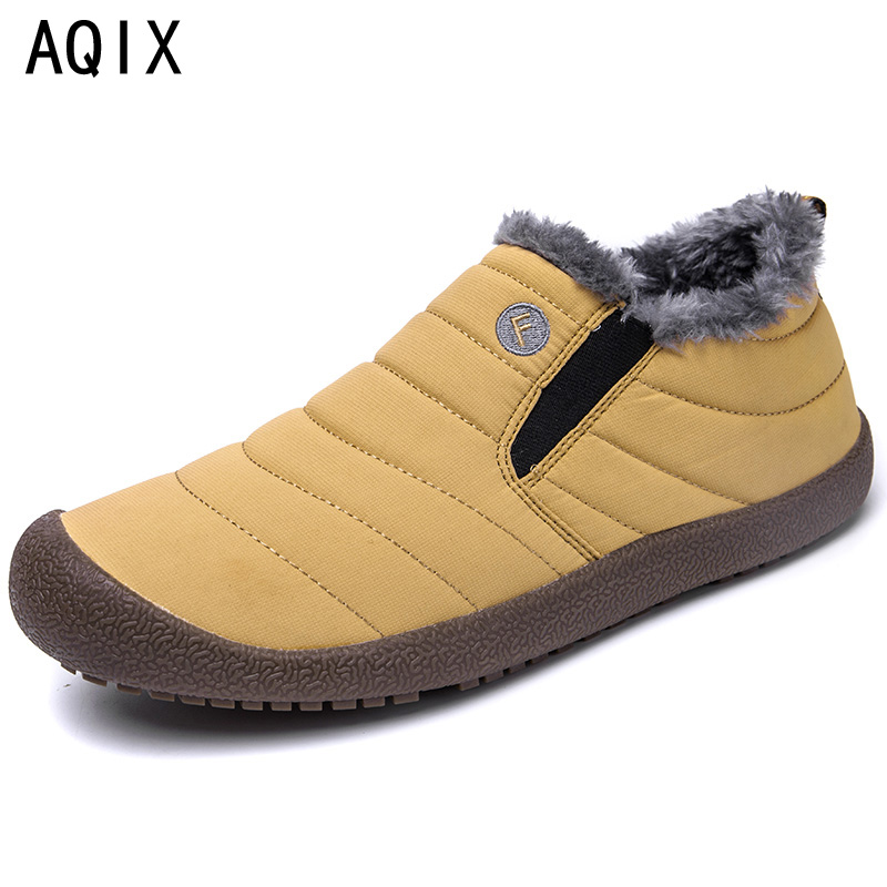 2018 Fashion Women Winter Shoes Solid Color Snow Boots Plush Inside Antiskid Bottom Keep Warm Waterproof Ski Boots Size 36-44 size 35 43 waterproof women winter shoes snow boots warm fur inside antiskid bottom keep warm mother casual boots bare shoes 40a