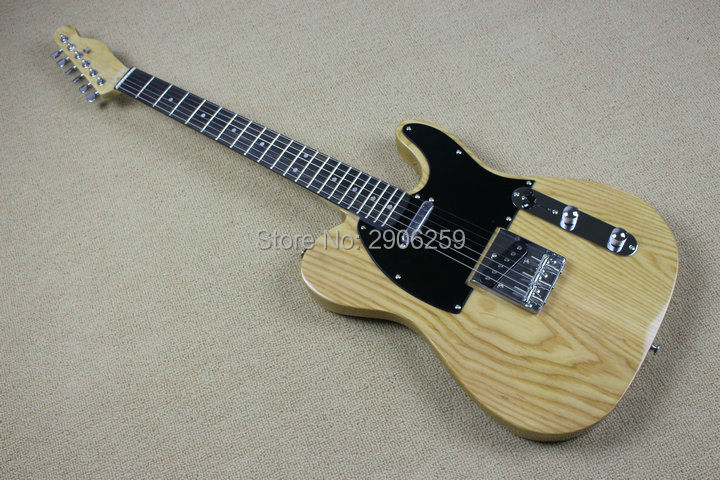 Custom Shop telecast electric guitar Ash body ebony fingerboard, real guitar pics tl guitar limited issued free shipping