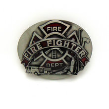 CHICCHERRY FIRE FIGHTER 2019most western zinc alloy product belt buckle for 4.0