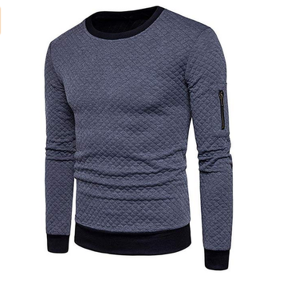 ZOGAA Men Hoodies And Sweatshirt Clothing Casual Slim Fit Top Men's O-neck Full Sleeve Pullover Hoody Tracksuit 2018 New