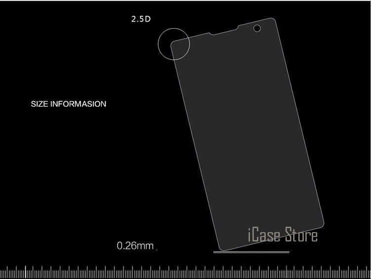 0.26 ملليمتر 9 h الزجاج المقسى لسوني اريكسون z l36h z1 z2 z3 z4 z5 المدمجة t2 t3 c3 c4 c5 e3 e4 E4G e5 z5 بريميوم فيلم m2 m4 m5 حالة
