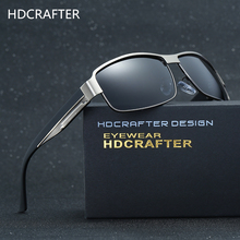 HDCRAFTER Fashion Driving Sun Glasses for Men Polarized Sunglasses UV400 Protection Brand Design Eyewear Wholesale Dropshipping