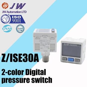 Interruptor de presión neumática Digital con visualización de ZSE30A-01-C4H-C6H-C6L-C4L-N-L-P de alta precisión