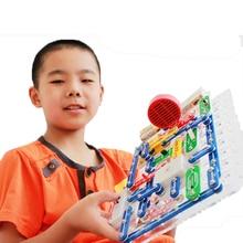 199 Sortes Composé Mode Snap Circuits Électronique Kit Découverte Électronique Blocs de Construction Assemblage Des Jouets pour les Enfants
