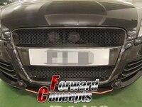 FOR 06 10 CARBON FIBER TT 8J MK2 O Style FRONT MESH GRILL GRILLE