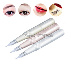 DSH- Professional Eyebrow Tattoo Machine Permanent Makeup Machine Pen for Lip Eyeline professional top end eyebrow lip eyeline permanent makeup tattoo machine pen kit digital power supply needles for body art