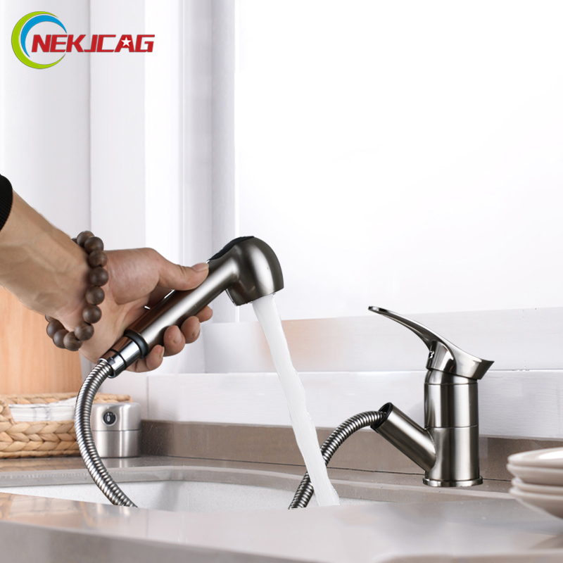 Kitchen Faucets Single Handle Pull Out Rotate Swivel Kitchen Tap Sink Faucet Brass Sink Mixer Tap eichholtz настольная лампа boxter