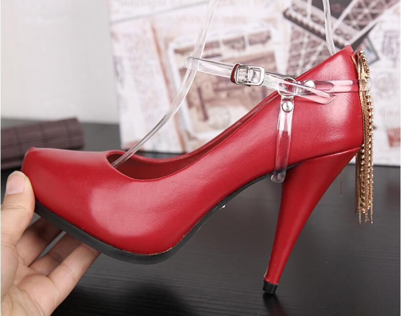 For Women Fashion Design Convenient Silicone Shoe Belt Ankle Shoe Tie A Pair