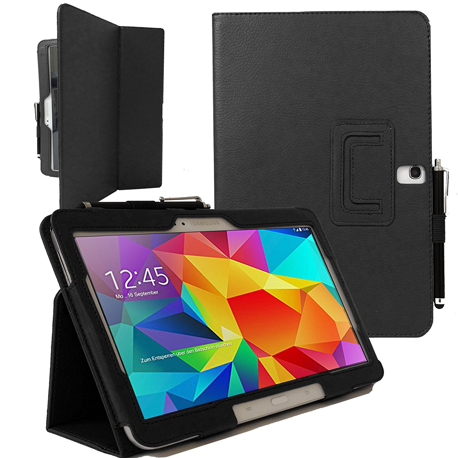 Case for Samsung Galaxy Tab 4 10.1 T530 T535 PU Leather Folio Stand Case Cover For Samsung Galaxy Tab 4 10.1 Funda +Stylus Pen ultra thin folio pu leather stand smart case for cover samsung galaxy tab 4 10 1 t530w screen protector stylus pen free shipping