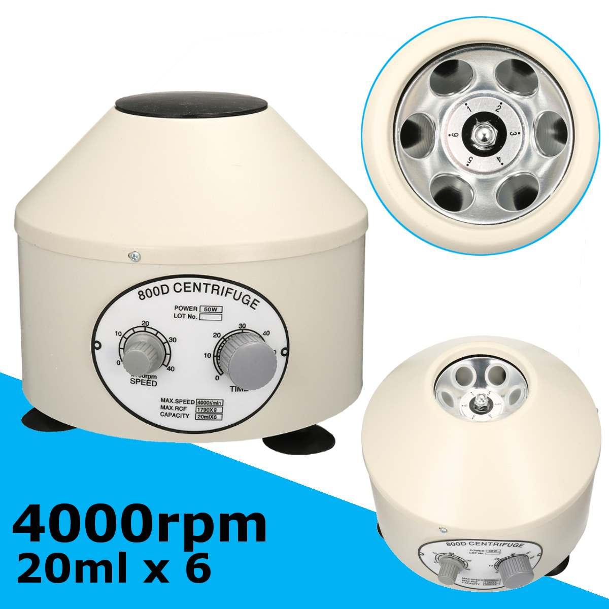 4000 rpm Elektrische Labor Zentrifuge Medizinische Praxis maschine Liefert prp Isolieren serum Medizinische Praxis 220 V