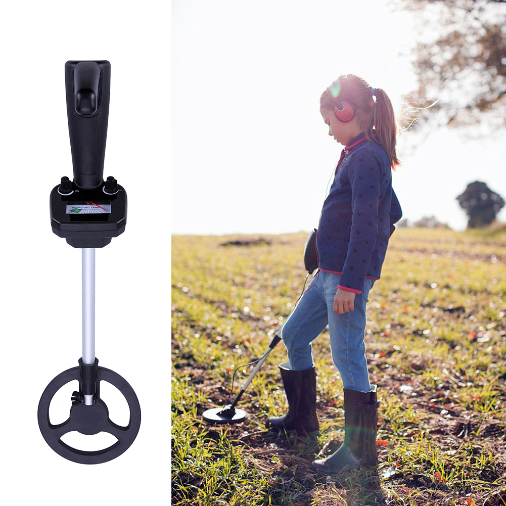 Junior Metal Detector Underground Lithium battery Lightweight Metal Detector for Beginners Kids Beach Searching Machine information searching and retrieval