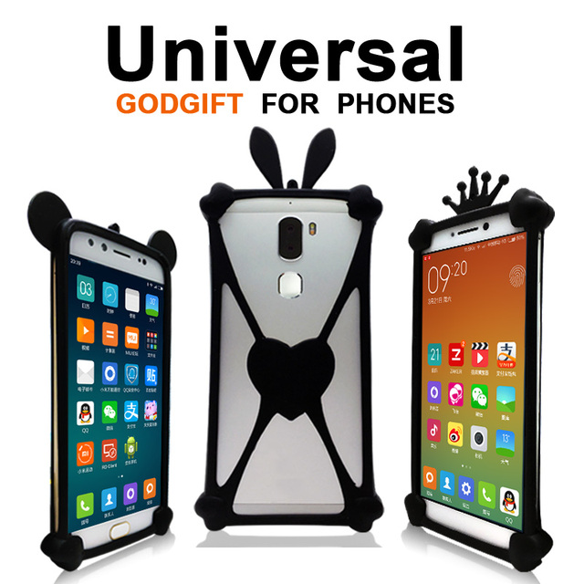 Venso Isprit U50/LTE U50LTE case cover Animal TPU case for Venso RX-505 case Universal Silicone Venso Reiv 500 case GodGift