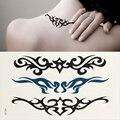 10x классическая панк стиль водонепроницаемый боди-арт рукавом DIY наклейки татуировки блеск металлический временные крошечный рука татуировки вдохновленный тату