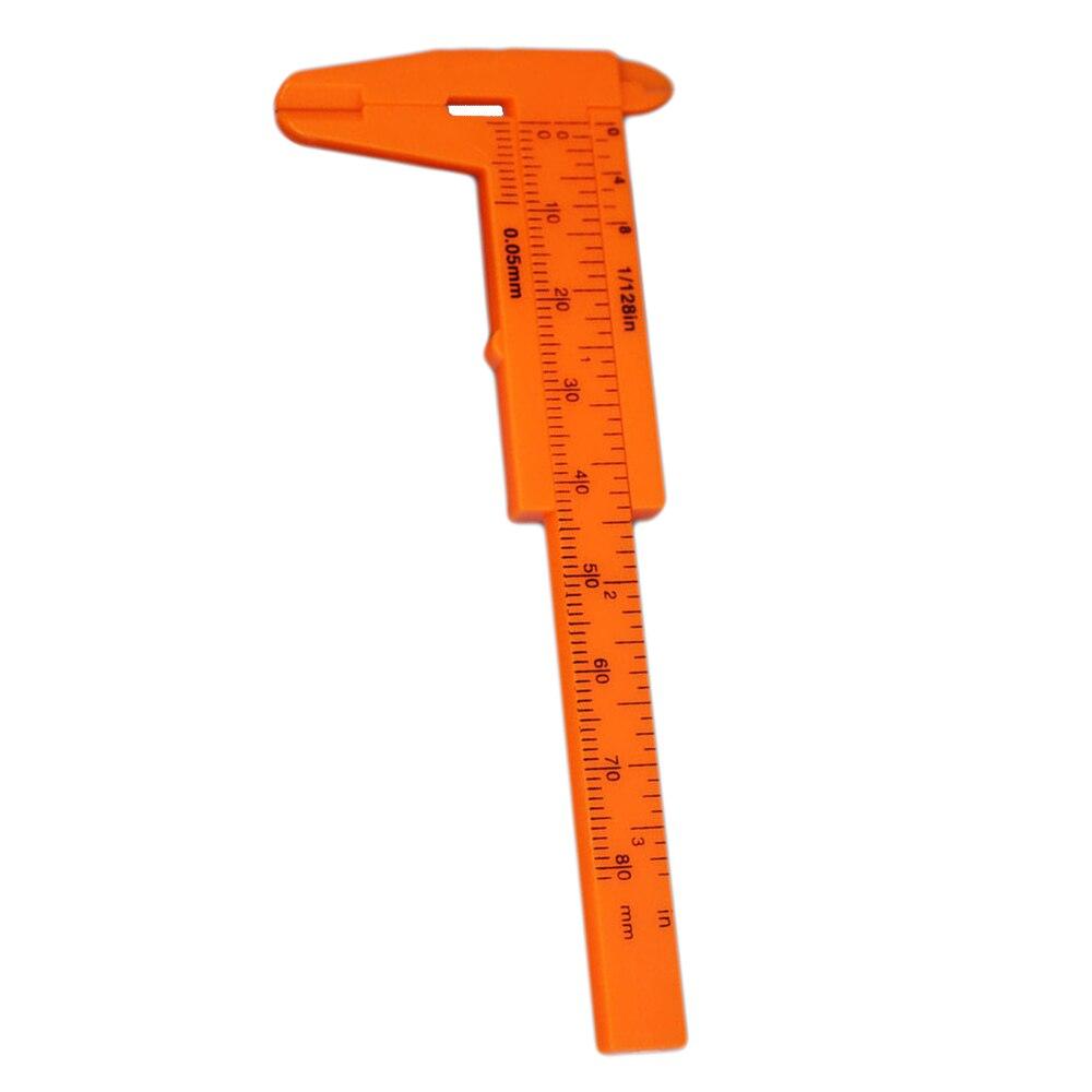 80 MILÍMETROS Vernier Caliper Régua Deslizante Calibre Ferramenta de Medição Medição Precisa