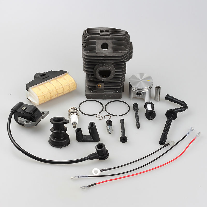 2016 TOP Selling 42.5MM Cylinder Piston Air Gas Fuel Oil Line Filter Ignition coil for Stihl 023 025 MS230 MS250 Chainsaw 52mm cylinder piston kit fuel oil line filter for stihl 046 ms460 chainsaw