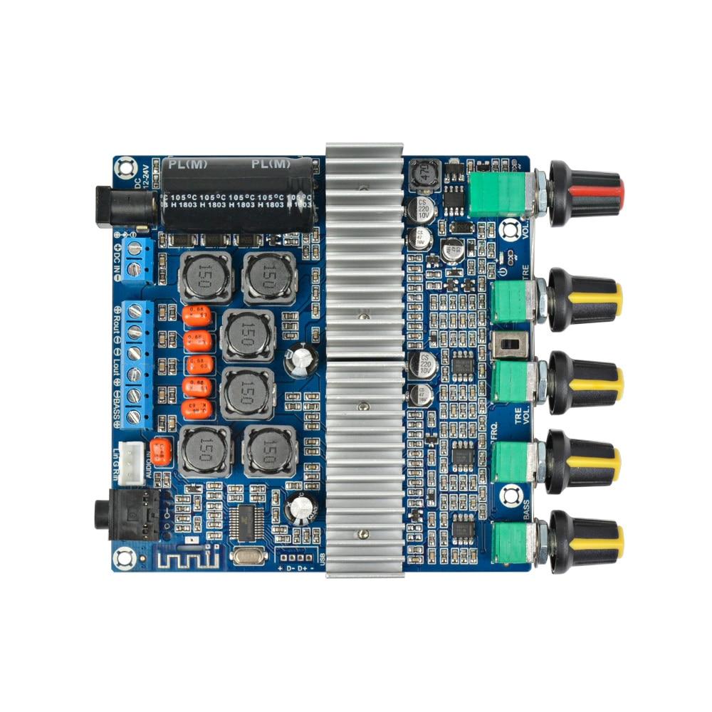 Aiyima Bluetooth ուժեղացուցիչ TPA3116 D2 2.1 HIFI - Տնային աուդիո և վիդեո - Լուսանկար 3