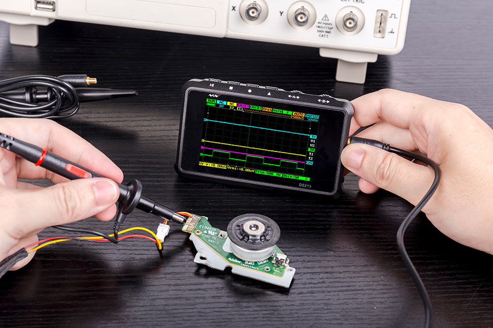 usb osciloscópio de armazenamento de bolso-tamanho osciloscópio