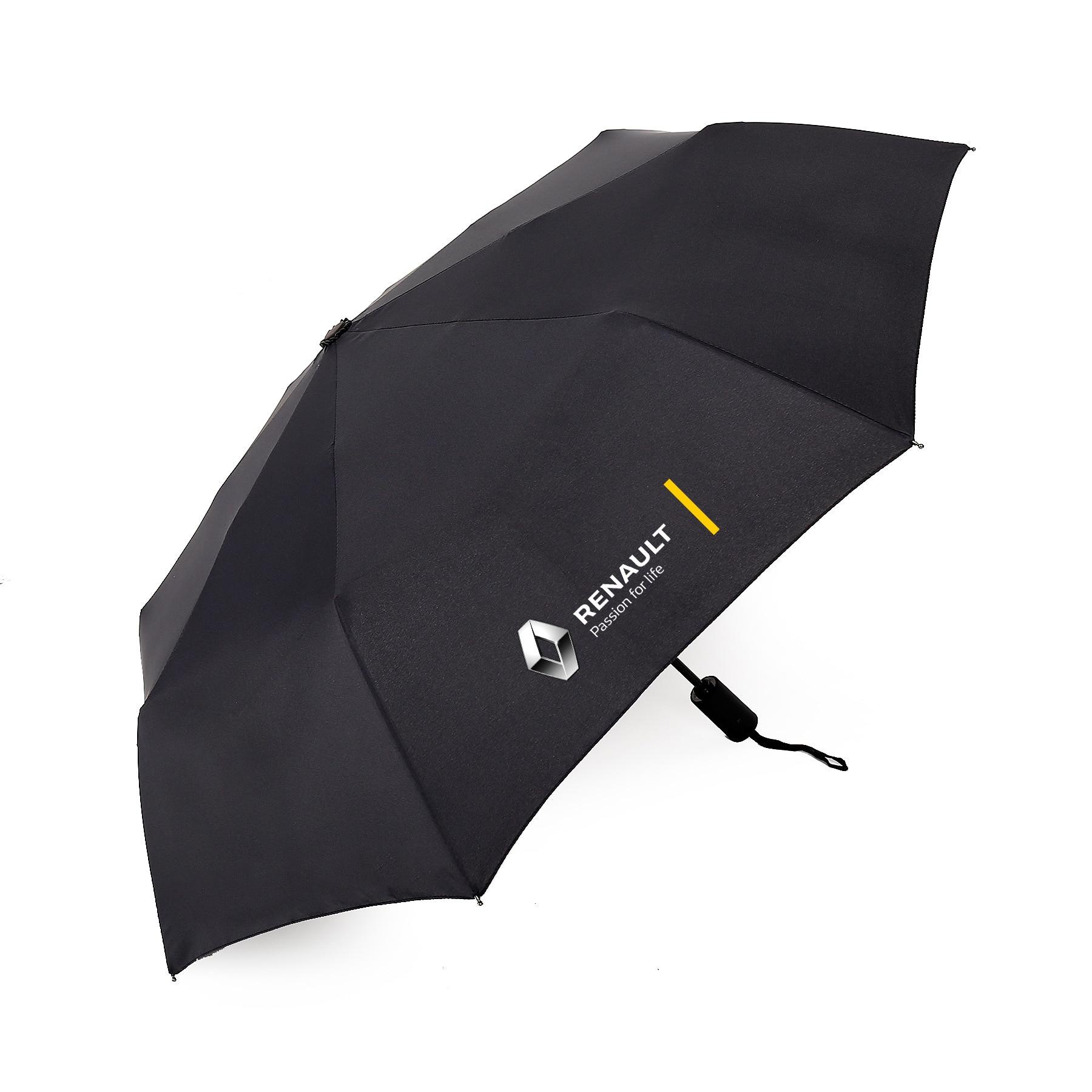 Voiture accessoires moto trois pliant parapluies Pour Renault Megane 2 logan renault clio Voiture Style