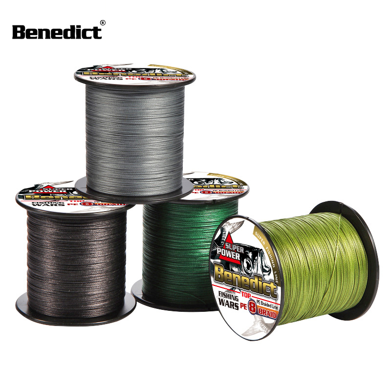 Image 2 - Strong PE 8 Strands  super quality 100M fishing line braid 0.63 0.68 0.75 0.80 1.0mm Multifilament 130 150 200 250 300LBS Smooth-in Fishing Lines from Sports & Entertainment