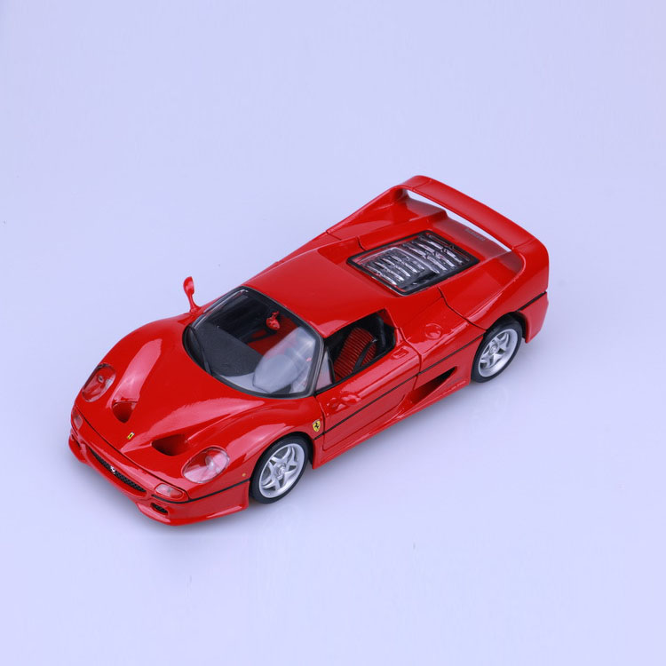 цена на Big Size 1:18 car model F50 toys Alloy Sport Cars Models Simulation Metal Diecast Collection High Quality Limit Edition model