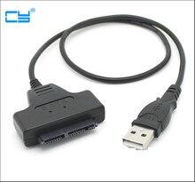 """Adaptateur pour disque dur SSD USB 2.0 vers 1.8 """", adaptateur pour Micro disque SATA, 7 + 9 16 broches"""