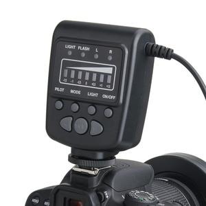 Image 4 - Meike FC 100 FC100 Macro Ring Flash Light per Nikon Canon EOS 650D 600D 60D 7D 550D T4i T3i per Nikon d5300 D7000 D5200 D90 ecc