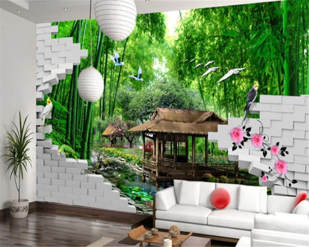 Desain Wallpaper Dinding Pemandangan Alam