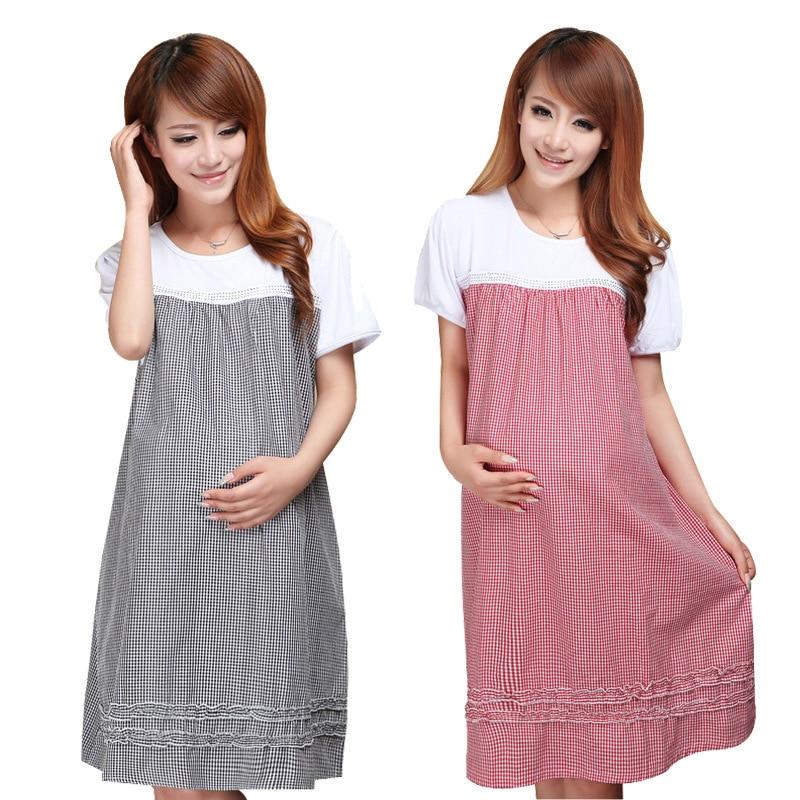 Maternity Clothing Nursing Tank Tops för gravida mammor Graviditet Kvinnor Klänningar Kläder Mor Sommar Kläder Plus Storlek