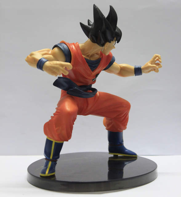 US $10 55 5% OFF|Retail wholesale Dragon Ball Z Figures The Monkey King Son  Goku PVC Action Figure Collection Model Toy 6