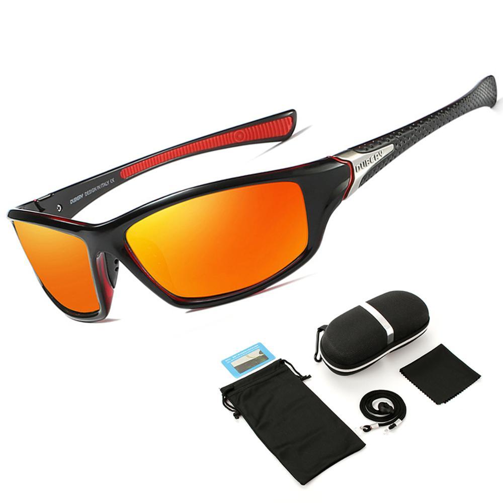 NEW TR90 Untralight Frame HD Polarized Sunglasses Fishing Eyewear Cycling Glasses For Men Women Sport Hiking Running Golf
