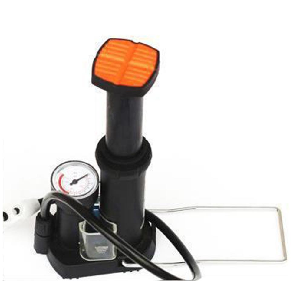 Bike Pump Mini Portable Bicycle Tire Air Foot Pump With Pressure Gauge Cycling