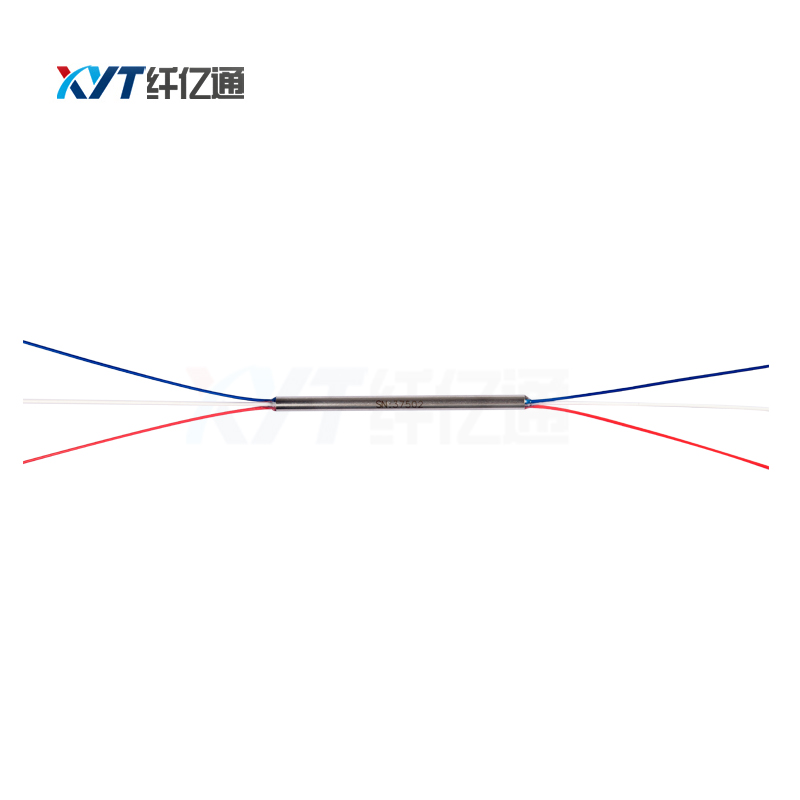 Free Shipping 2X2 Mini Fiber Optical Splitter With SC/ UPC APC Connector 0.9mm Fiber Optic PLC Splitter