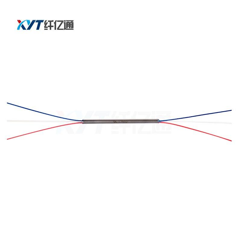 Free Shipping 2X2 Mini Fiber Optical Splitter With SC/ UPC APC Connector 0.9mm Fiber Optic PLC Splitter