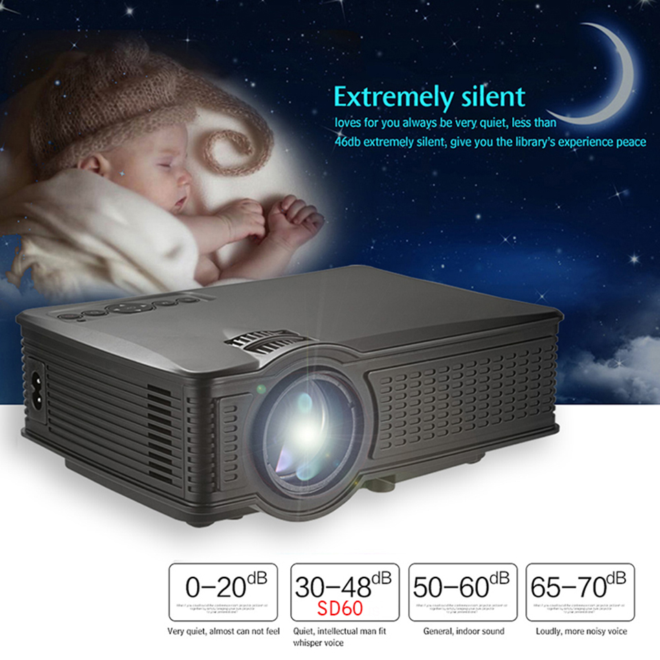 SD60 Portable LCD WIFI Projector-11