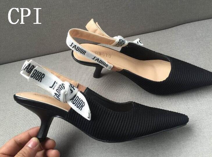 Бренд D Обувь женские туфли-лодочки на высоком каблуке Высокие каблуки 6 см Женская обувь Свадебные туфли-лодочки на высоком каблуке черные ...