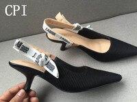 מותג D נשים אישה נעלי עקבים גבוהים משאבות עקבים גבוהים 6 ס