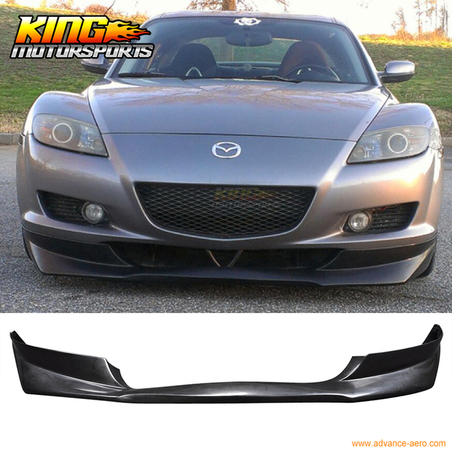 aliexpress : buy for 04 08 mazda rx 8 rx8 evo front bumper lip