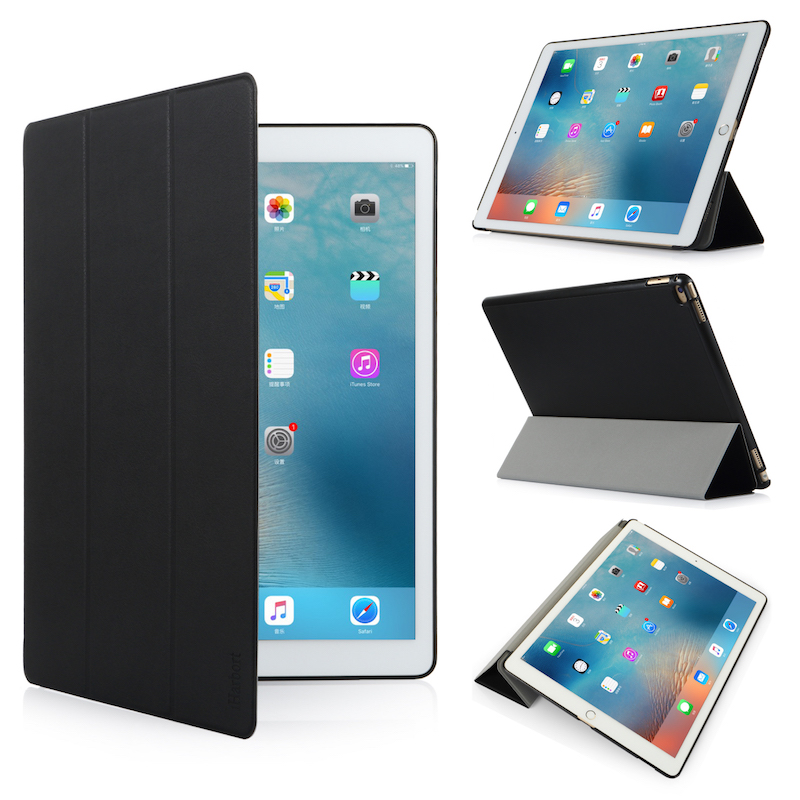 Stand Case for iPad Pro 12.9, iHarbort PU Leather Case smart Cover with Multi-Angles holder Stand With Sleep/ Wake Up Function for apple ipad pro 10 5 case 2017 new pu leather slim smart cover w pencil holder wake sleep function for ipad pro 10 5 case